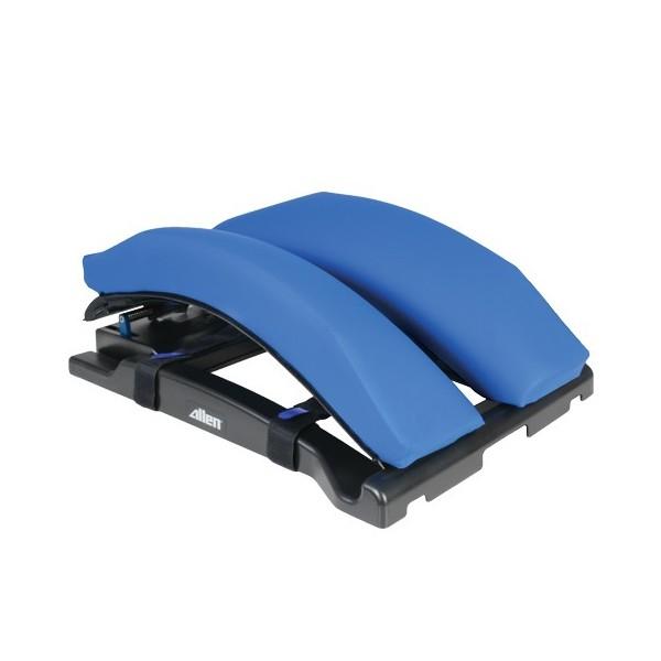 Radiolucent spine surgery frame system