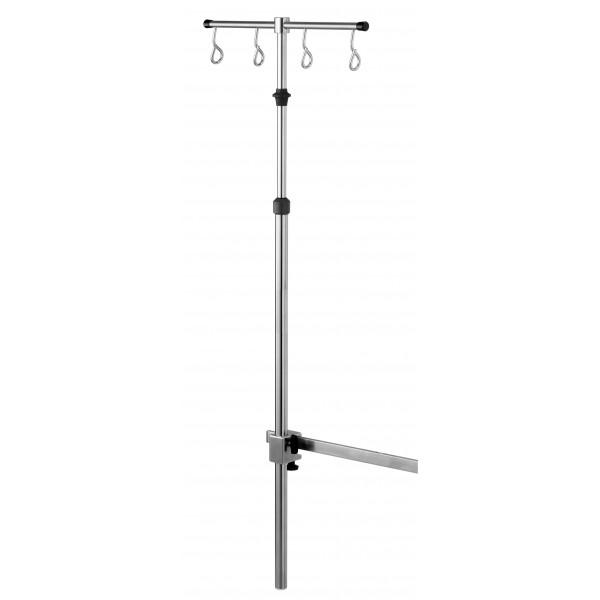 Infusion rack Ø25, 4 hooks