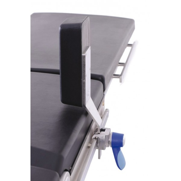 Simple lateral support with flat rod clamp TAB740B