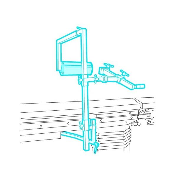 Système de traction pour embrochage de l'humérus, du cubitus et du radius