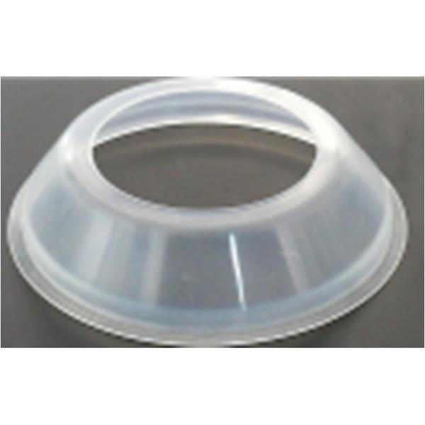 Corona de silicona que permite el control de la intensidad por el cirujano