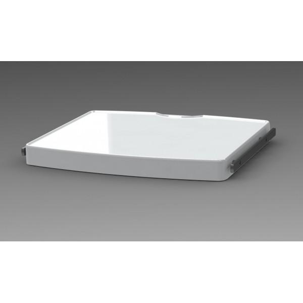 Tablette large + 2 rails