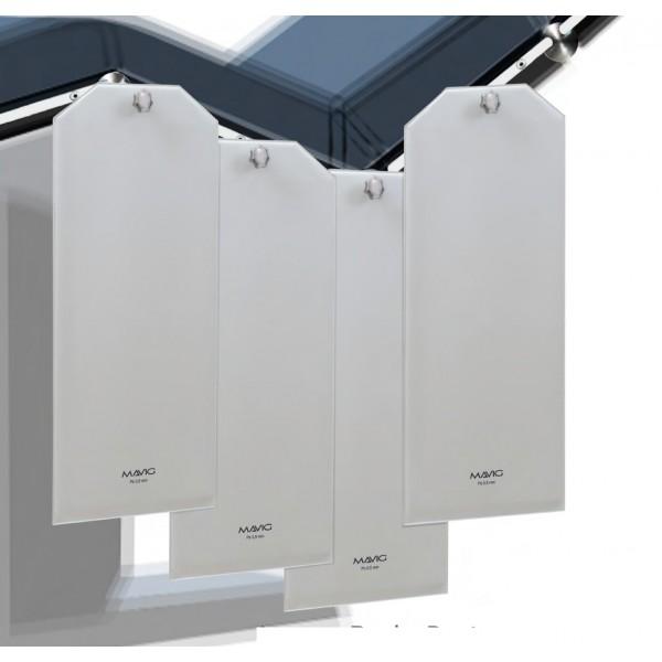 kit de 3 paneles de protección en plomo